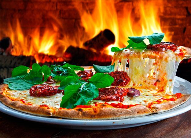 Entrega de pizza no parque Santa Rita